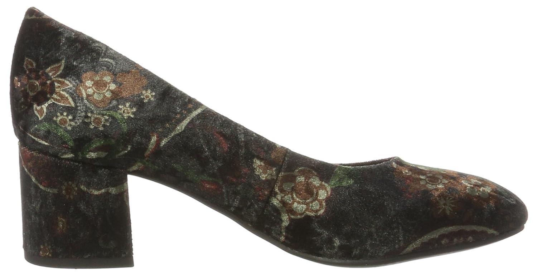 Marco Tozzi 22460, Femmes Chaussures À Talons Hauts, Multicolore (velours Multiples), 38 Eu