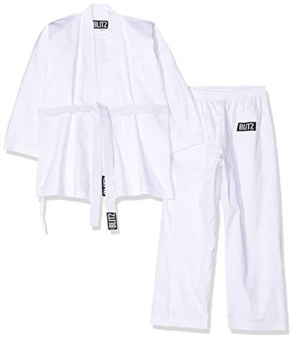 Amazon.com: Blitz Sport adultos Cotton Estudiante Karate ...