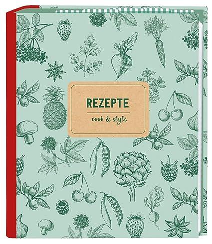 Moses. 80624 Cook & Style para recetas DIN A5 | con fundas transparentes y registro