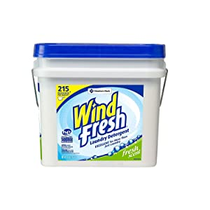 Product of windFresh Powder Laundry Detergent (35 lbs, 215 loads) - Laundry Detergents [Bulk Savings]