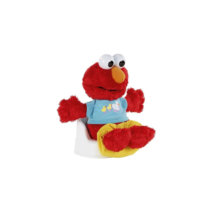 com sesame street playskool potty time elmo plush toy com sesame street playskool potty time elmo plush toy toys games