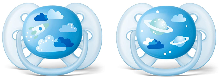 Philips Avent Sucette Ultra Douce pour Fille 6-18 Mois