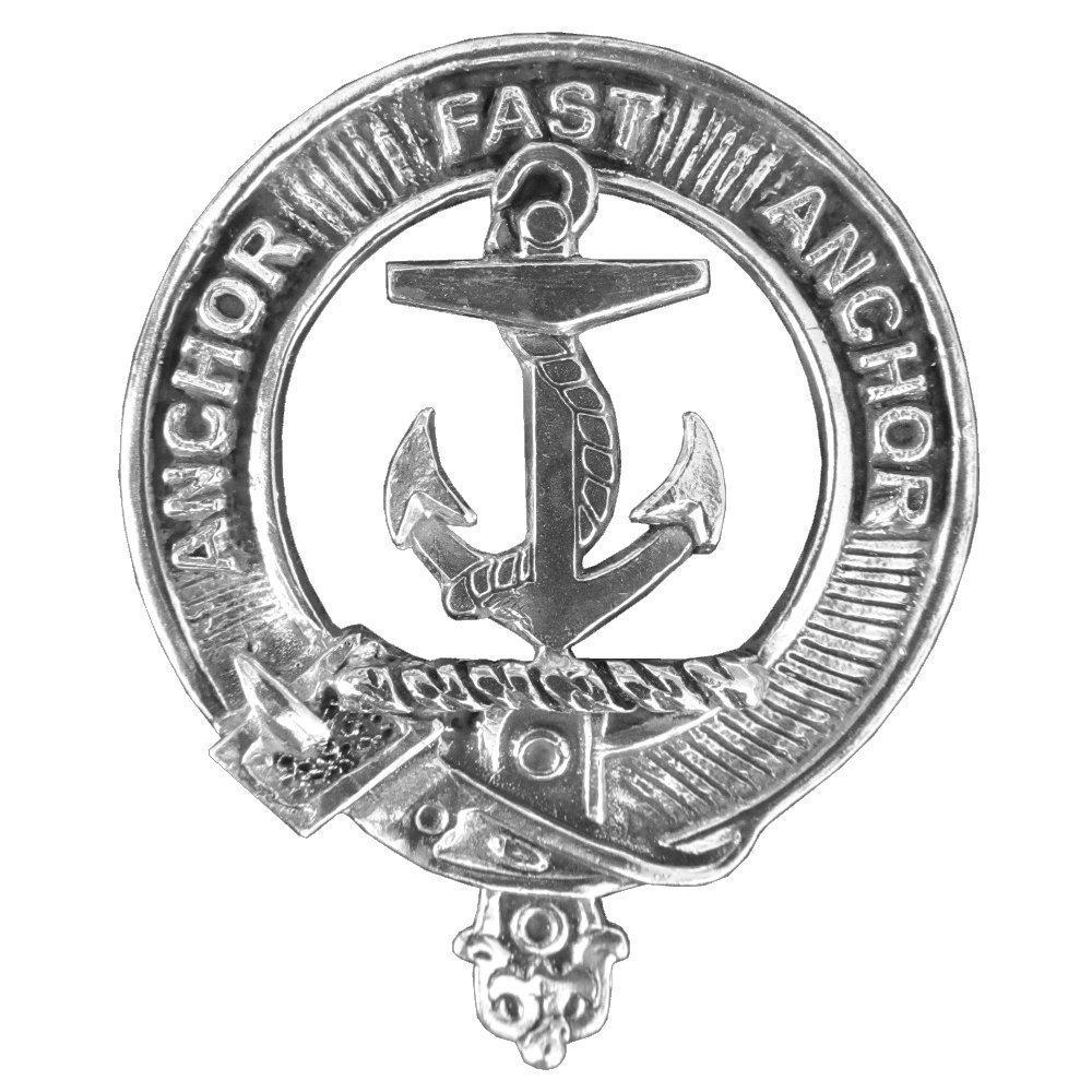 Gray Clan Crest Scottish Cap Badge