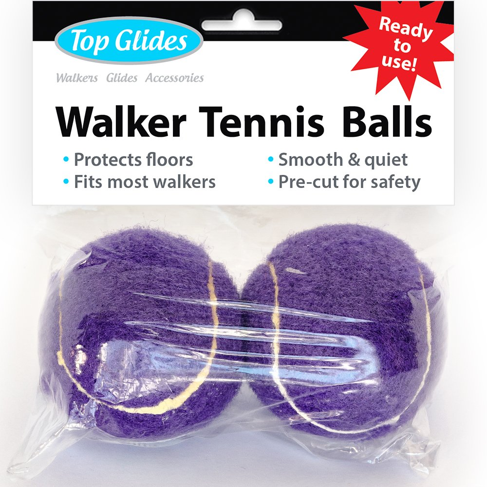 Purple Tennis Balls