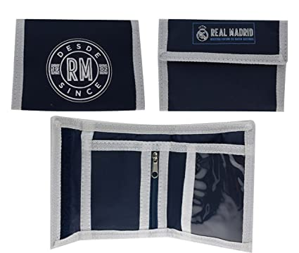 Cartera Oficial Real Madrid CF - Azul Marino nº2 RM6CAR2
