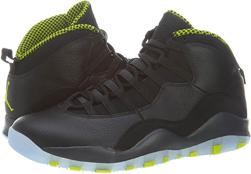 2e5eea4400775b NIKE Air Jordan Retro 10 X Basketball Shoes Sneaker Black Green. AIR Jordan  Retro 10  Venom  - 310805-033 ...
