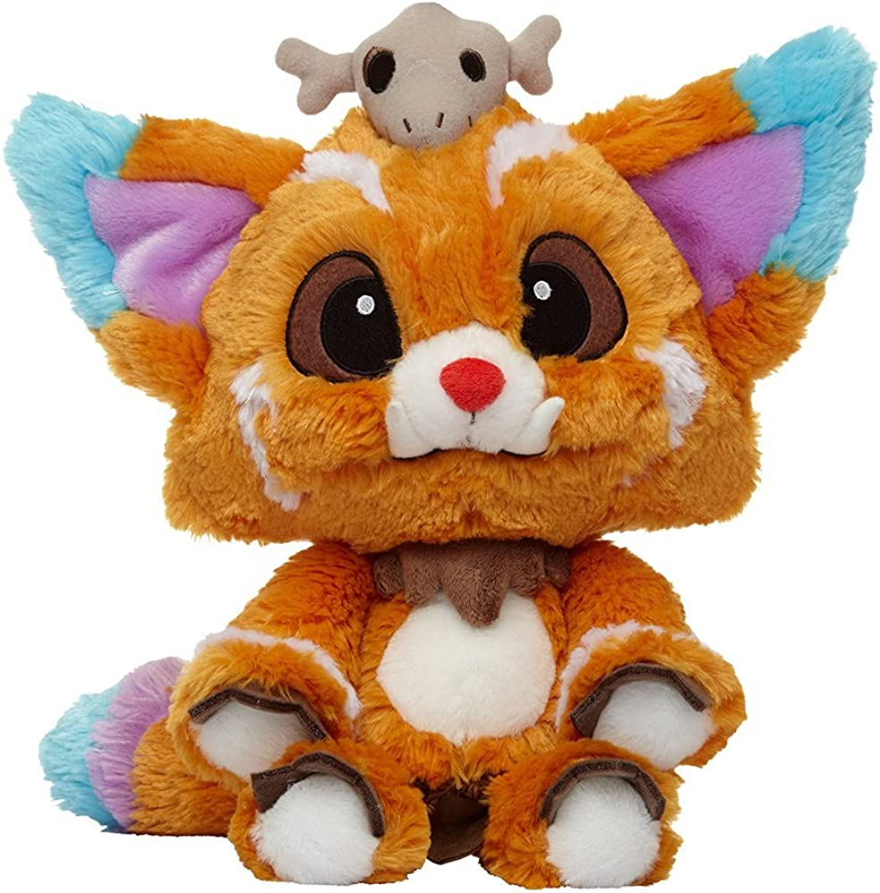 Riot Games Unisex League of Legends Official Plush, Gnar 1, One Size