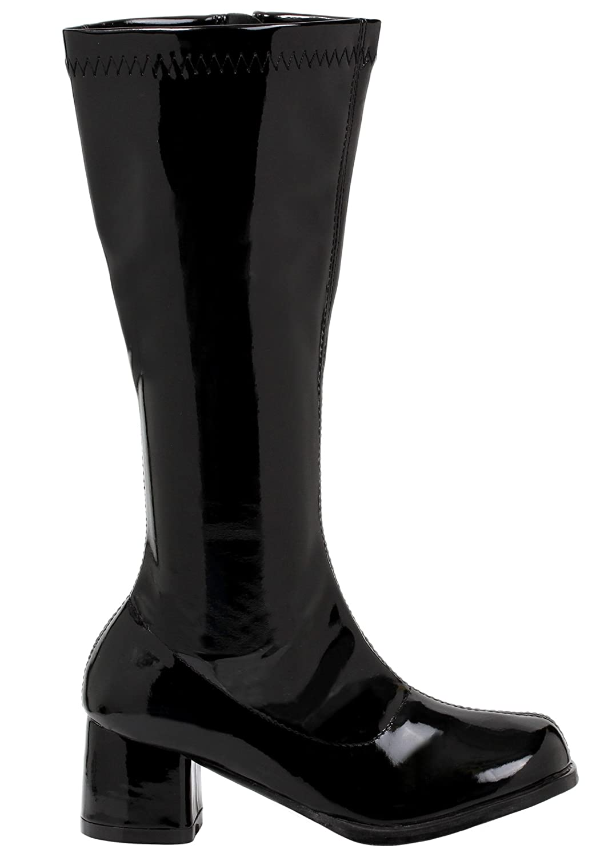 ff7c7d62640ed Girls Black Gogo Boots Large (2-3)
