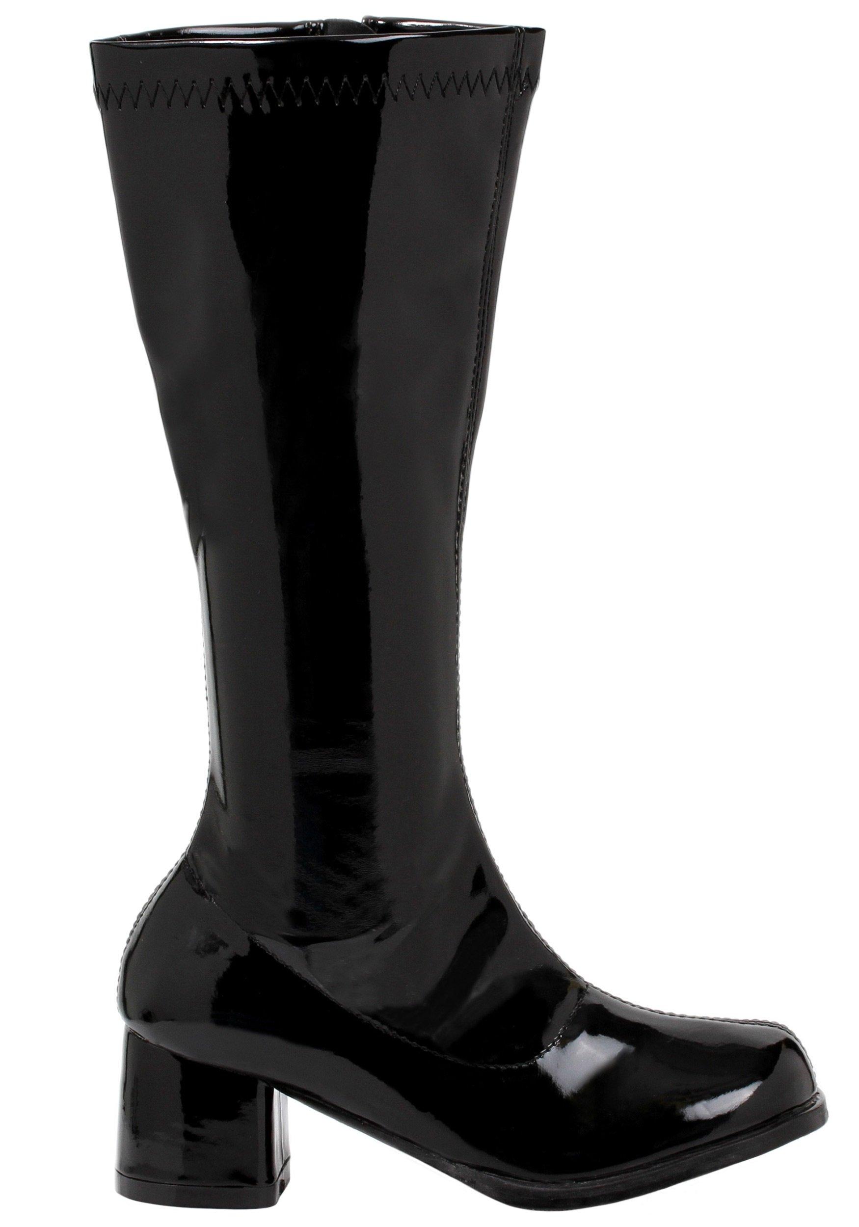 Ellie Shoes - Dora (Black) Child Boots - Small (11-12) - Black