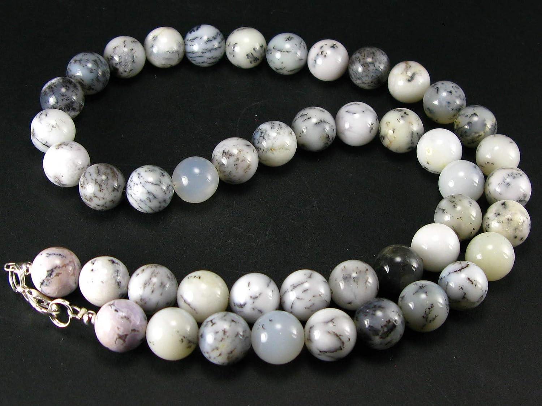 Merlinite and Mystic Merlinite Genuine Bracelet ~ 7 Inches  ~ 8mm Round Beads