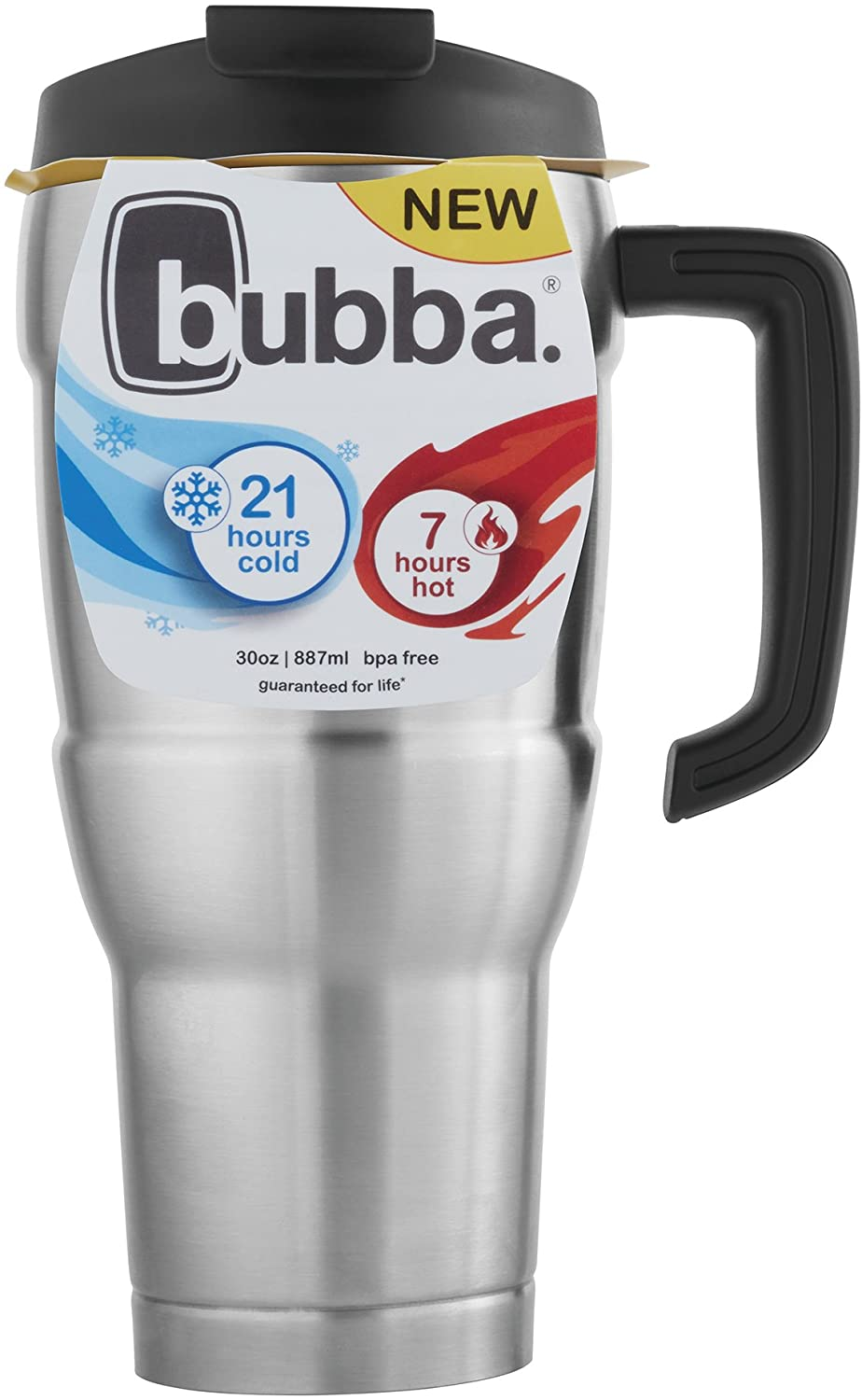 Amazon Com Bubba Hero Xl Vacuum Insulated Stainless Steel Travel Mug 30 Oz Stainless Steel Kitchen Dining