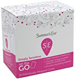 Summer's Eve Feminine Cleansing Cloths for Sensitive Skin for Women Cloths, 16 Piece