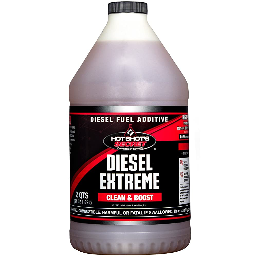 Hot Shot's Secret P040464Z Diesel Extreme Clean and Boost - 64 fl. oz.