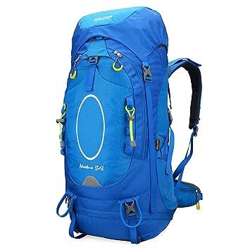 Bolang al Aire Libre Paquete de Senderismo Marco Interno Mochilas Camping Bolsa de Escalada, Azul: Amazon.es: Deportes y aire libre