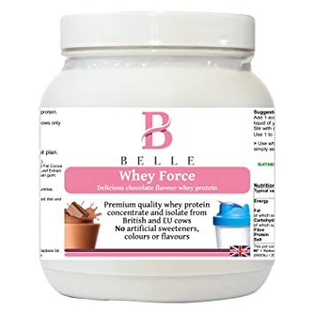 Belle® Whey Force Protein Powder - polvo de proteína de ...
