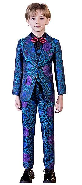 Amazon.com: Fersumm - Juego de 5 piezas de traje de jacquard ...