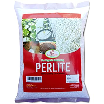 Casa De Amor Perlite for Hydroponics and Horticulture (500 gm, White)