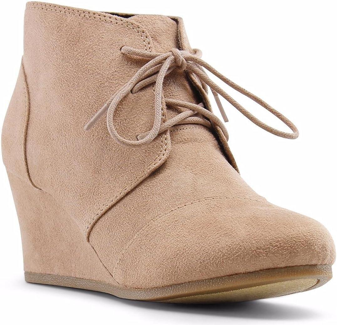 MARCOREPUBLIC Marco Republic Galaxy Girls Kids Childrens Wedge Boots