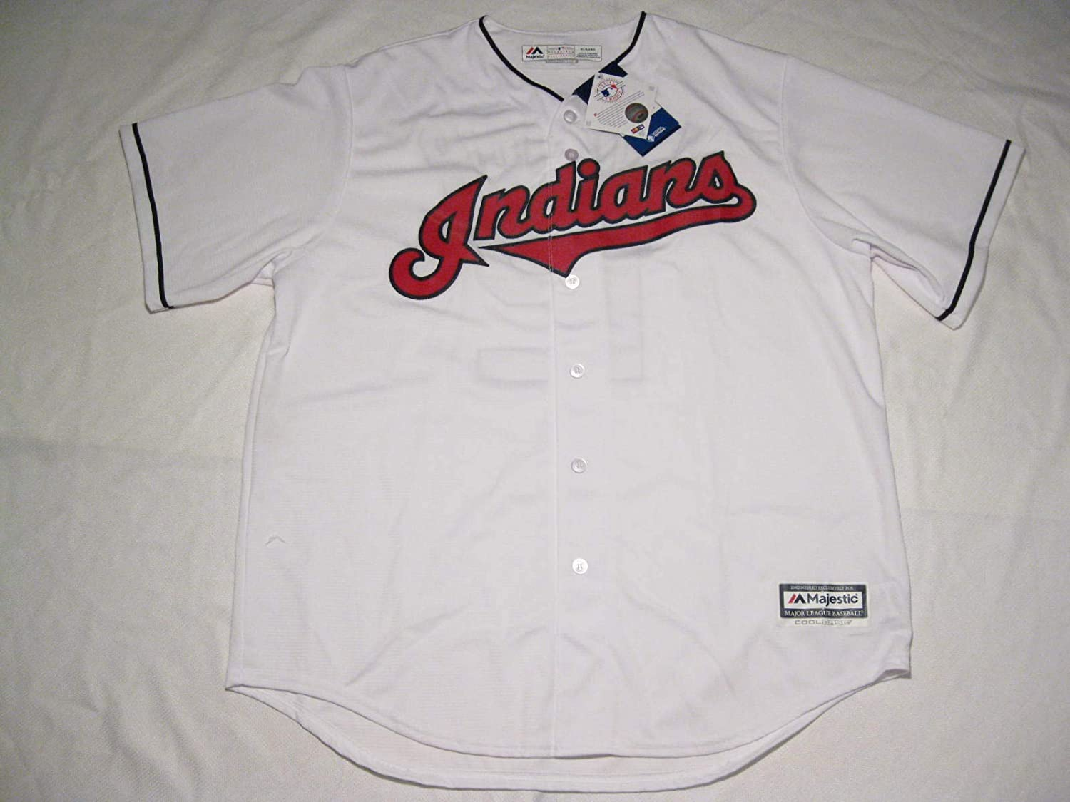 Francisco Lindor Cleveland Indians Toddler Cool Base White Replica Jersey