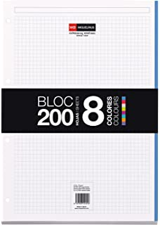Miquelrius Emotions Bloc Recambio 5 colores Pastel 100 hojas ...