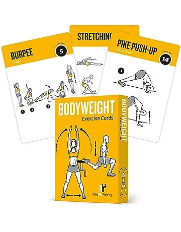 TARJETAS DE EJERCICIO BODYWEIGHT – Guía de programa de ejercicios con entrenador personal