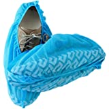 Blue Shoe Guys Premium Disposable Boot & Shoe Covers | Durable, Water Resistant, Non-Toxic | One Size Fits Most | 100-Pack