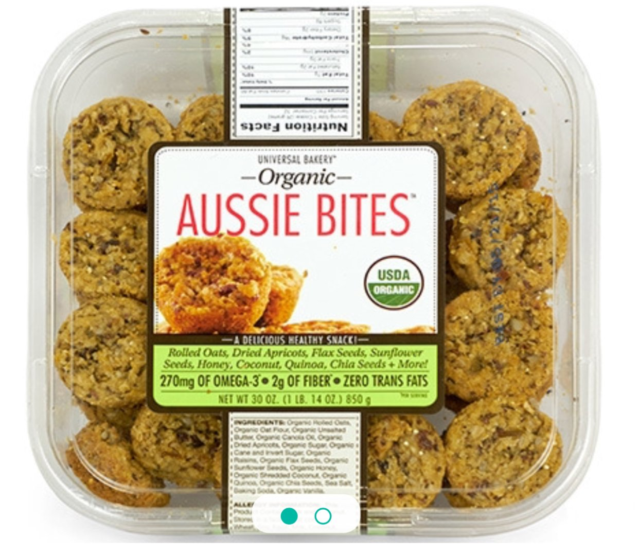 Aussie Bites orgánicos 30oz. (2Paquetes ...