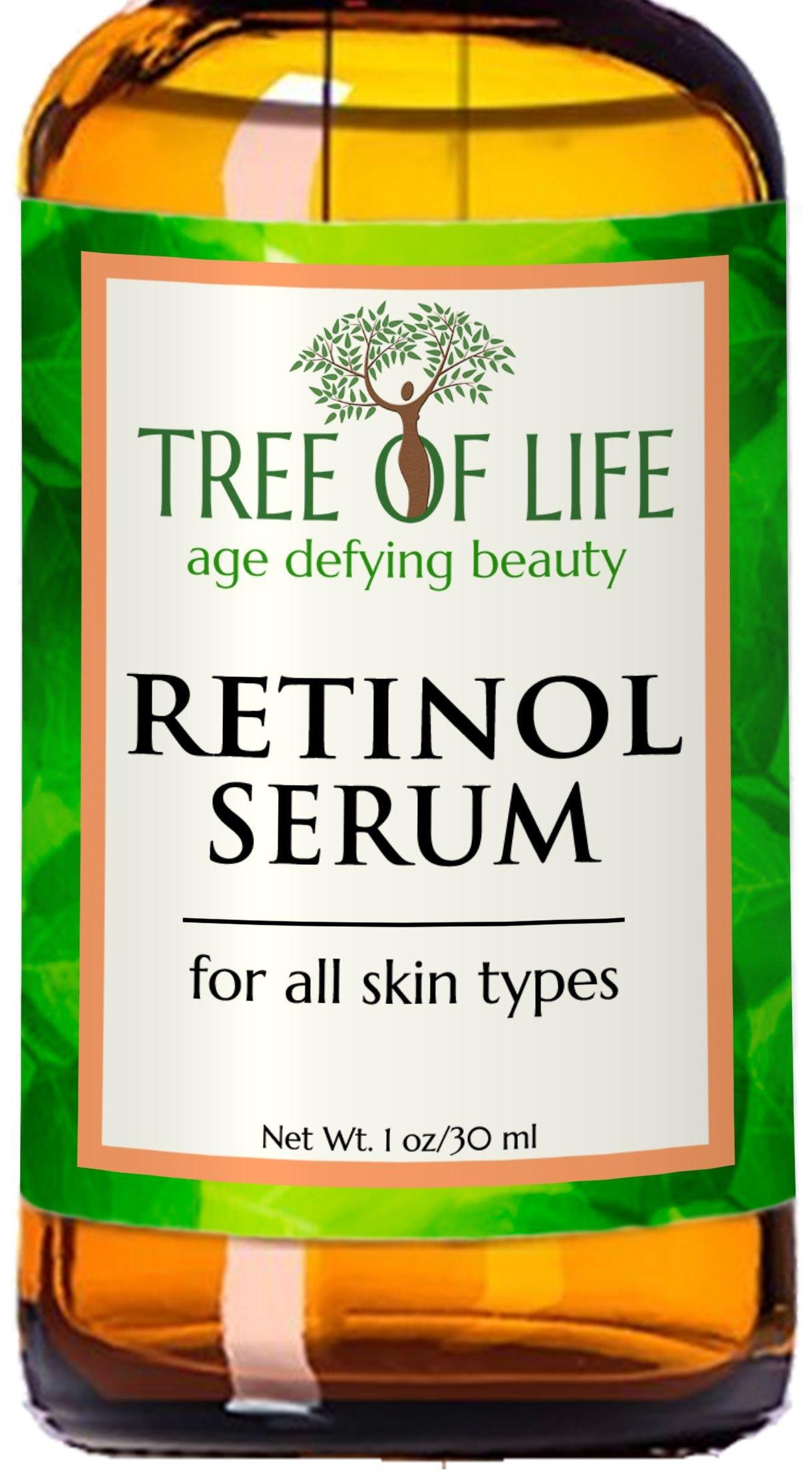 ToLB Retinol Serum - 72% ORGANIC - Clinical Strength Retinol Serum Face Moisturizer Cream for Anti Aging, Anti Wrinkle, Acne - Organic and Natural Ingredients - 1 oz