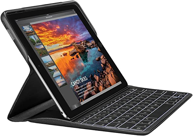 Amazon Com Logitech Create Backlit Keyboard Case With Smart Connector For Ipad Pro 9 7 Only Will Not Fit Other Models Black Computers Accessories