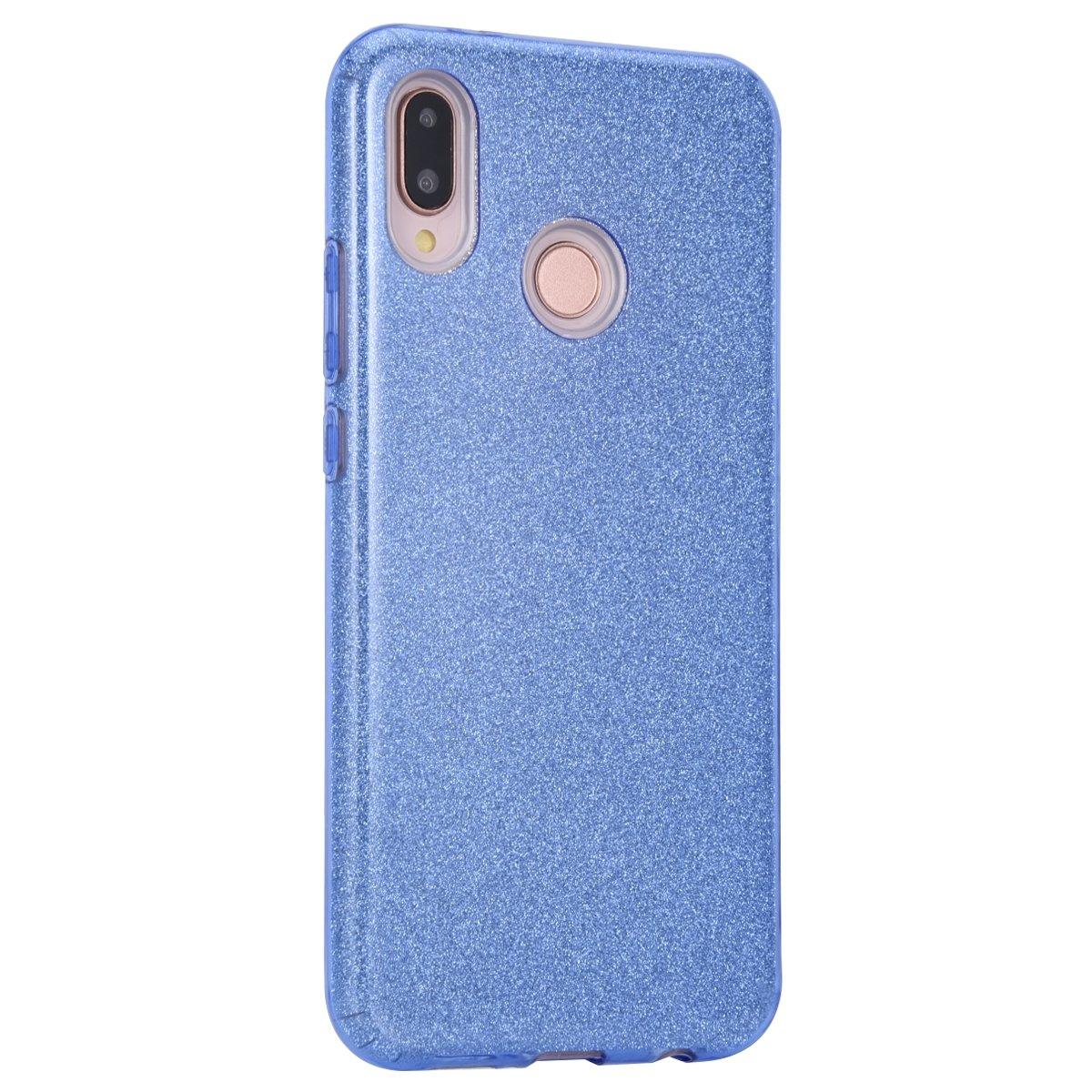 77a2b1b5a617 HandyHülle für Huawei P20 Lite, Huawei P20 Lite Glitzer Handy Tasche Hülle,  Uposao Kristall