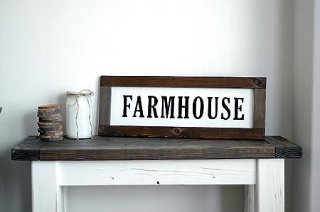 Farmhouse cartel pared Decoración para el hogar país estilo ...