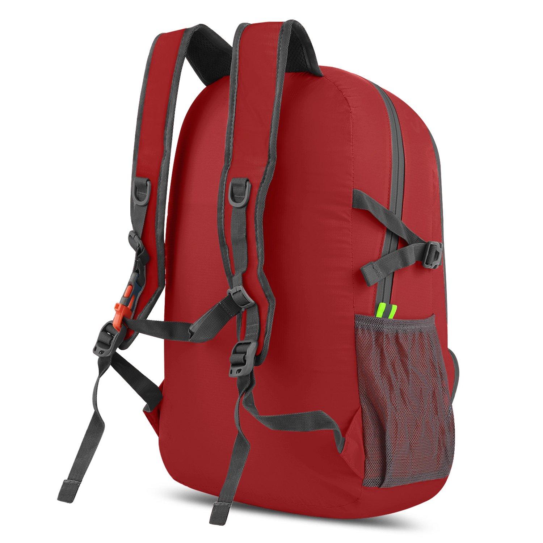 Gonex Sac /à dos de sport Ultra-L/éger//Sac imperm/éable//Sac pliable randonn/ée,voyage,fitness Sac /étanche 30L Pour camping