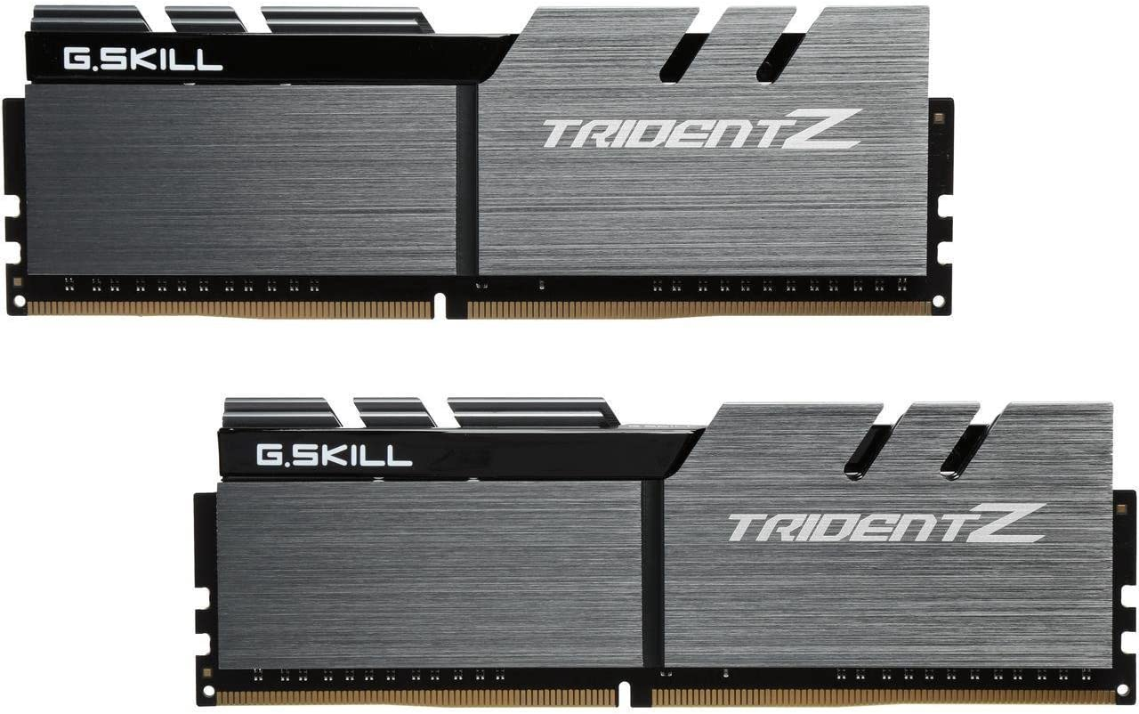 G.Skill TridentZ Series 16GB (2 x 8GB) 288-Pin DDR4 3200MHz (PC4 25600) Desktop Memory F4-3200C14D-16GTZSK