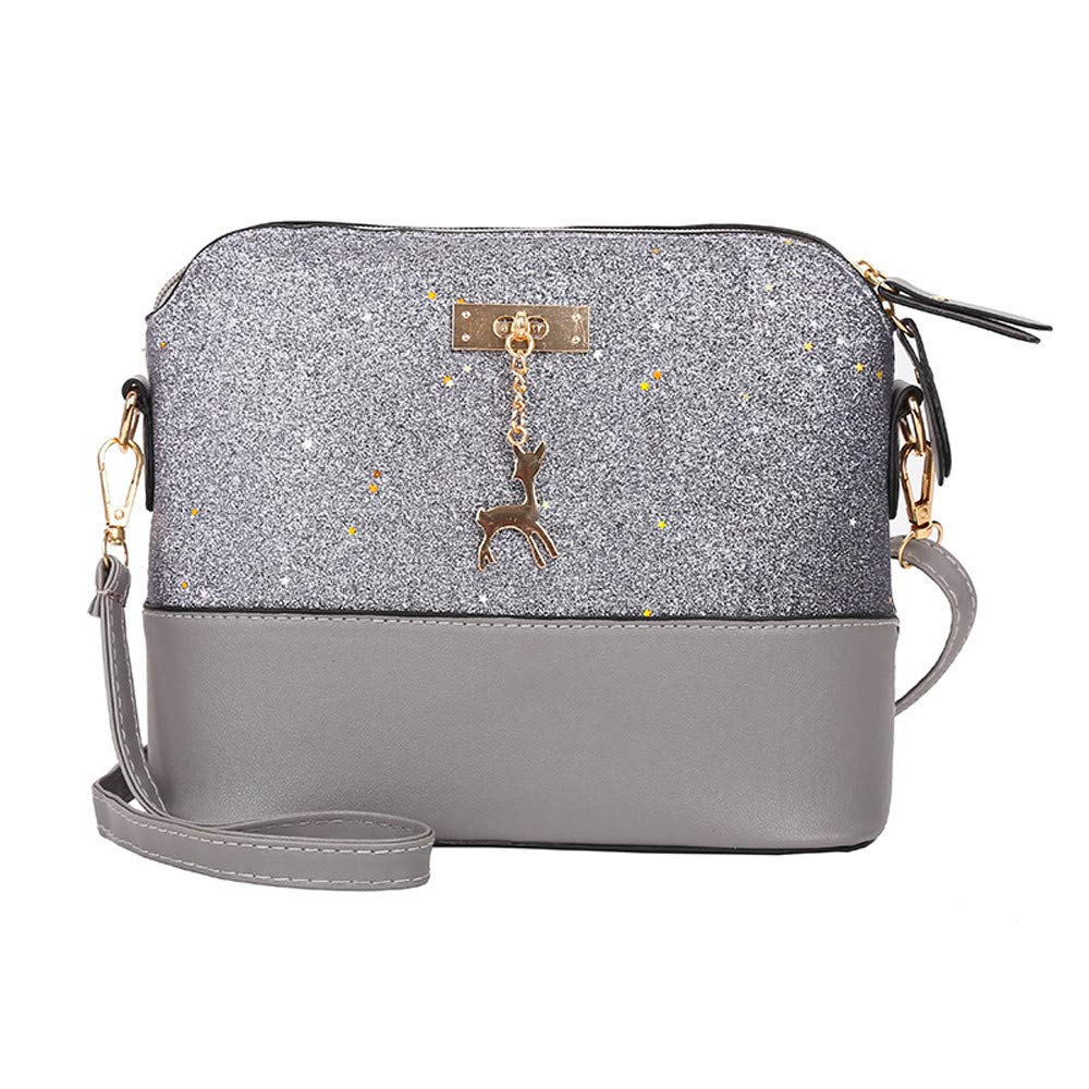 656363a93738 Amazon.com: Yiwanjia Women Sequin Evening Shoulder Bag Glitter ...