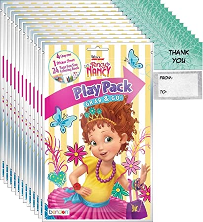 Amazon.com: Fancy Nancy Grab n Go Play Packs (12 unidades ...