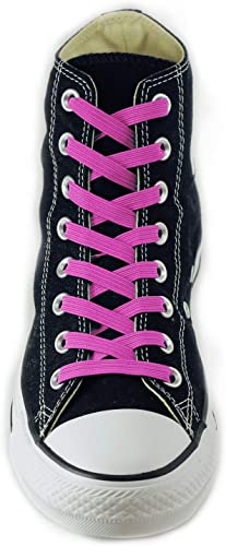 UK Easy No Tie Elastic Shoe Lace 100/% Silicone Trainers Shoes Shoelaces
