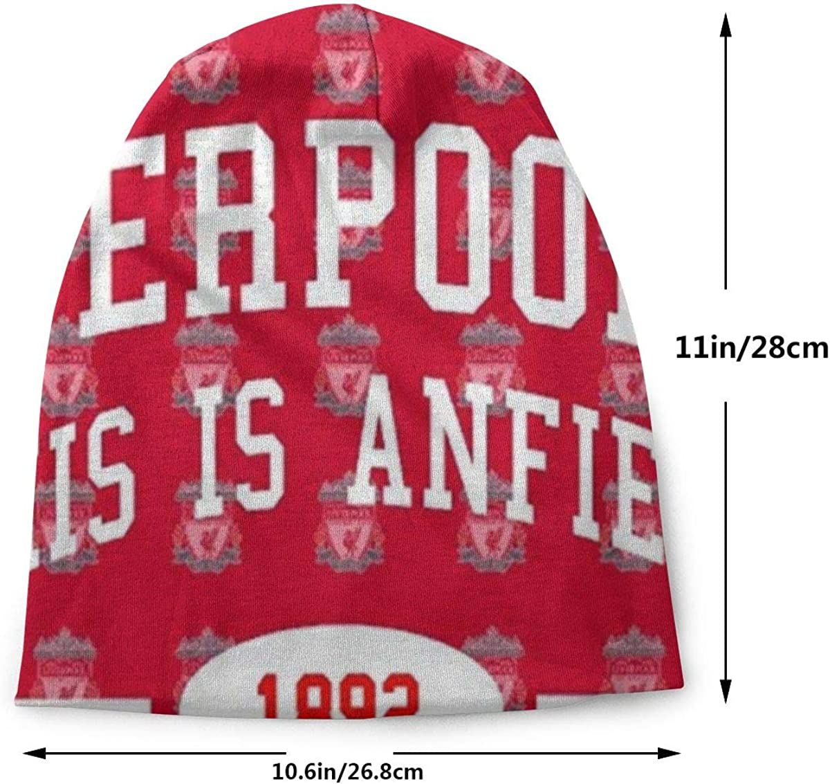 vQ87o0t Liverpool Fc Anfield Knit Beanie Winter Hat Warm Stretchy Soft Beanie Hats for Men and Women ,Year Round Comfort