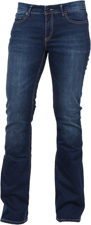 Denham Mujer Jeans futbolín RBR dl08001 Barco Cut, flare azul W29 ...