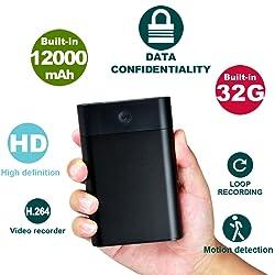 Hidden USB Spy Camera 12,000mAh Power Bank