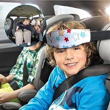 Amazon.com: Car Seat Sleeping Head Support,Safety Stroller Sleeping ...