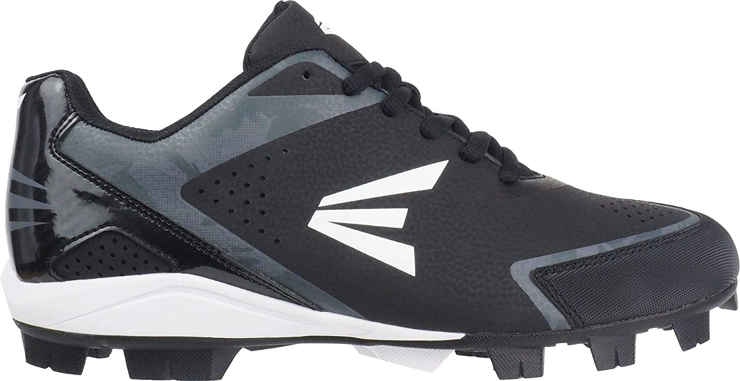 Black//White//Charcoal Camo Easton Youth 360 Instinct Rubber Low Baseball Cleats