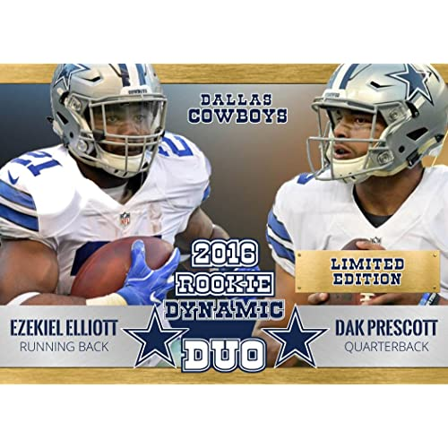 Dallas Cowboys Prescott And Elliott: Amazon.com