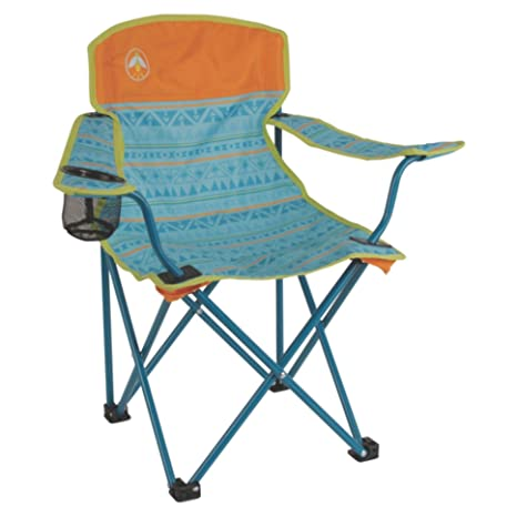 Great Coleman Kids Folding Chair With Cup Holder And Carry Bag