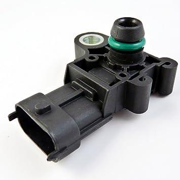 Nuevo Sensor de presión absoluta colector mapa 12591290 55573248 12644228 para GMC Saturn Astra Chevrolet Aveo, Camaro Corvette Cruze HHR: Amazon.es: Coche ...