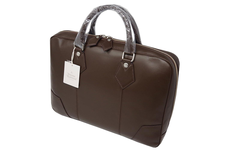 Vivienne Westwood MAN ヴィヴィアンウエストウッド マン 本革 高級 ビジネスバッグ チョコ B52171 新品 B07DGYP9PF