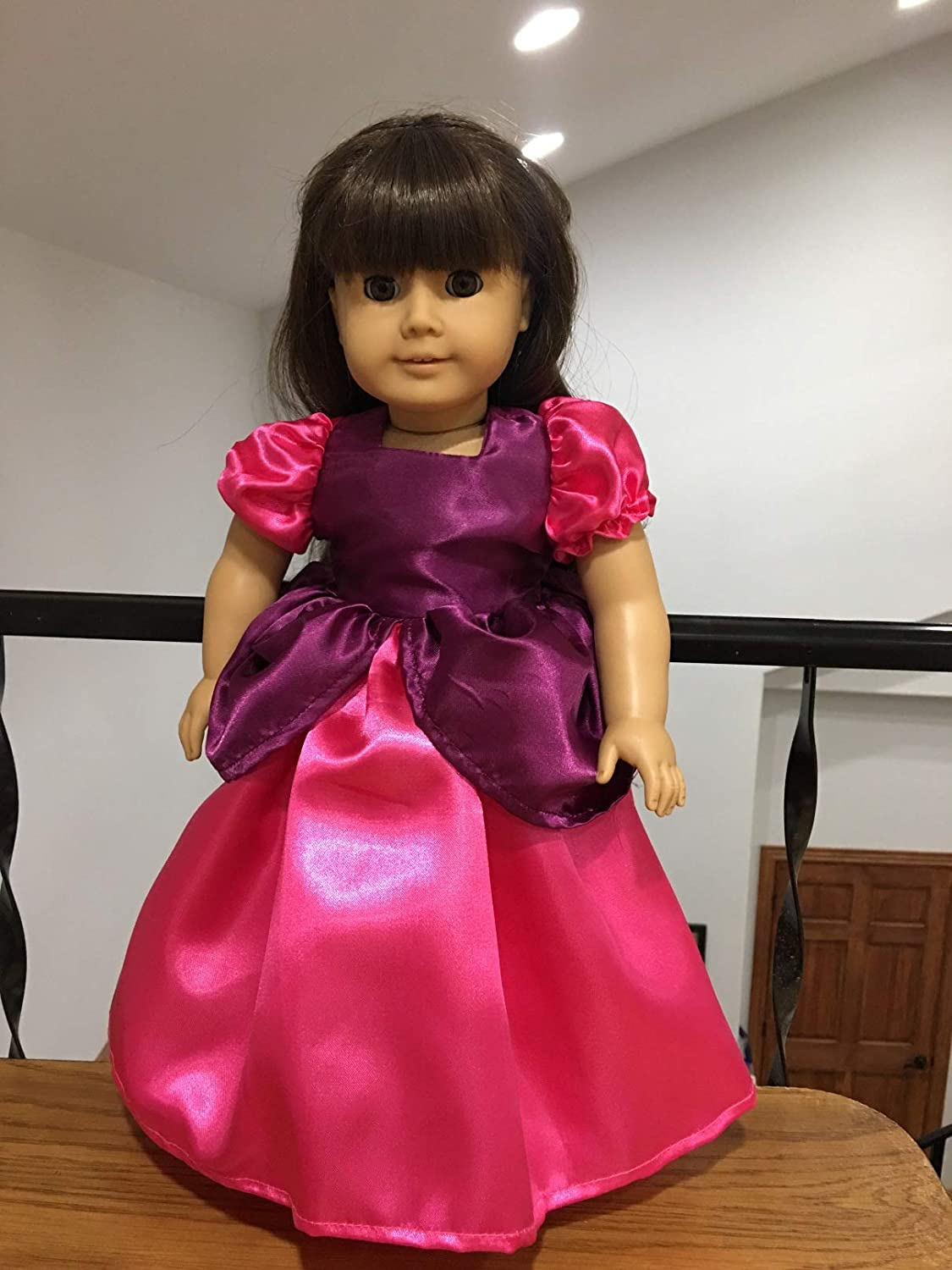 Fits 18 American Girl Our Generation Doll Clothes Victorian Classic Cinderella Anastasia Inspired Historical Dress Only