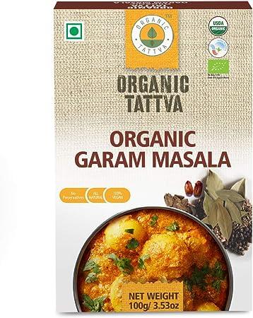 Organic Tattva Garam Masala, 100g