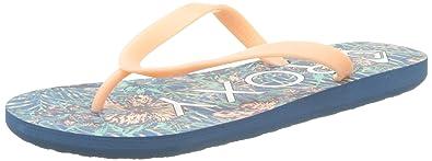 Roxy Damen Tahiti V Zehentrenner, Mehrfarbig (Blue Surf), 42 EU