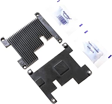 High Performance Custom Top Bottom Aluminum Cooling Heatsink for Raspberry Pi 4B