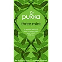 Pukka Herbs Three Mint Tea Bags, x